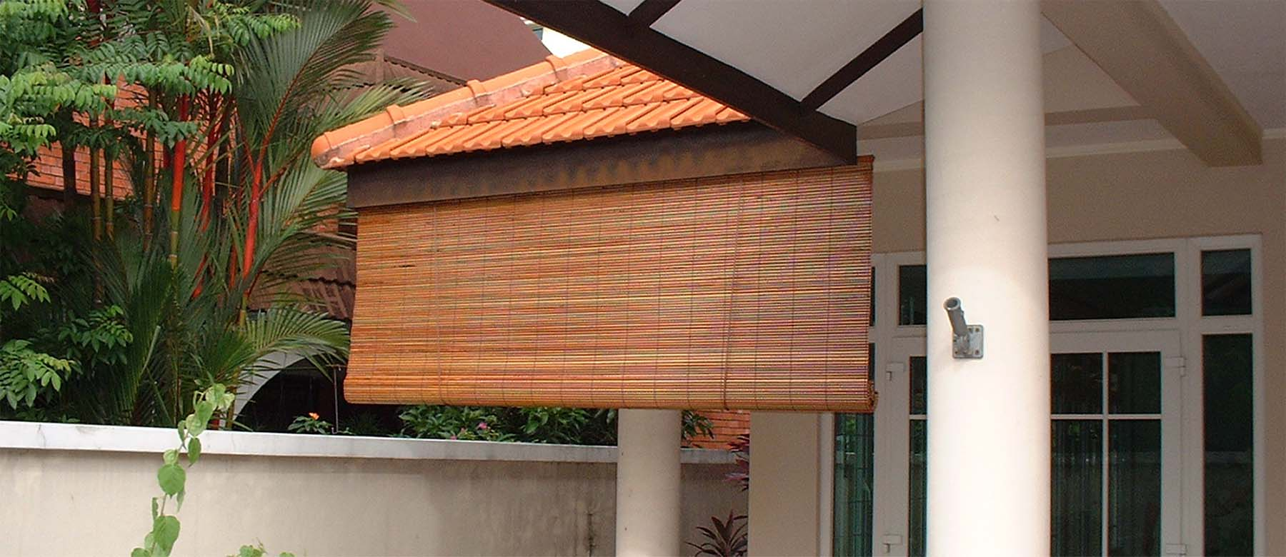 Outdoor Wooden Blinds Supplier In Puchong PJ Bangi
